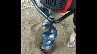 9. Earth Auger Petrol Operated 3 HP by HOPE India
