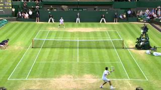 Tennis Highlights, Video - 2013 Day 7 Highlights: Novak Djokovic v Tommy Haas