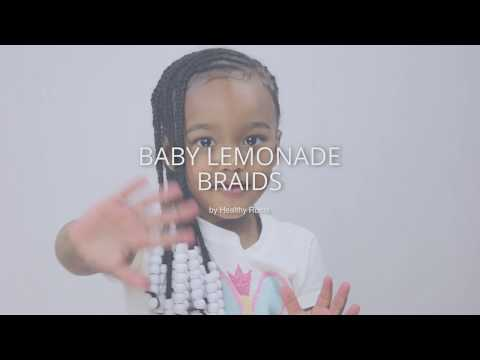 How To Do Baby Lemonade Braids | Healthy Roots Dolls