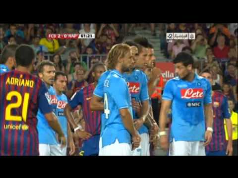 Barcelona vs Napoli 5-0 All goals and Full Match Highlights| 2011 Guan Gamper Cup