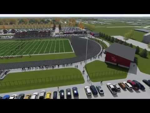 Tour of Roland-Story's Proposed New Stadium