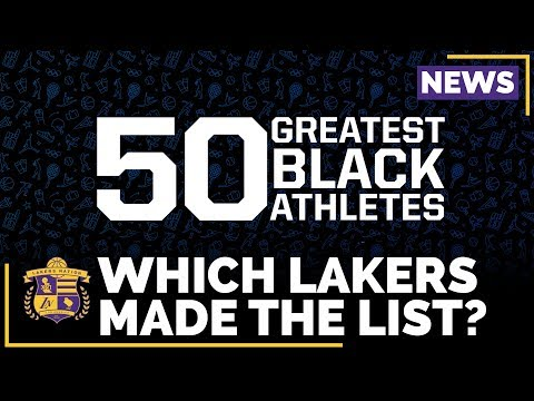 Video: Kobe Bryant Snubbed In 50 Greatest Black Athletes Of All-Time?