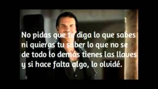Ricardo Arjona - hay amores letra
