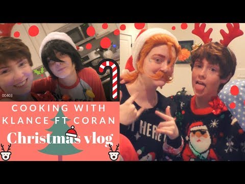 Cooking With Klance (ft Coran) || Christmas Vlog
