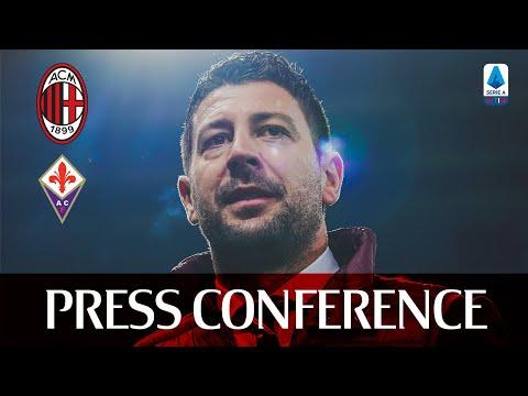 #MilanFiorentina   Pre-match press conference