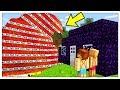 ONDA GIGANTE DI TNT CONTRO BASE DI OSSIDIANA! - Minecraft ITA