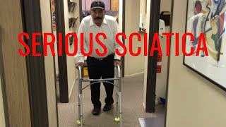 Video Ridiculous SCIATICA relieved in ONE VISIT by Orange County Chiropractor MP3, 3GP, MP4, WEBM, AVI, FLV Januari 2019