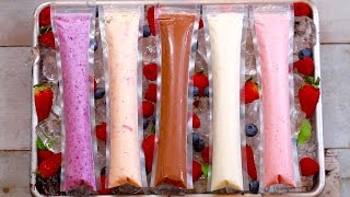 Frozen Yogurt Pops (5 Easy Snacks) Gemma's Bigger Bolder Baking Ep  118 by Gemma's Bigger Bolder Baking