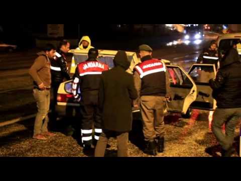 Jandarma-polis huzur operasyonu yaptı