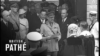 Gloucester Australia  City pictures : Australia - Sydney Welcomes Duke & Duchess Of Gloucester (1945)