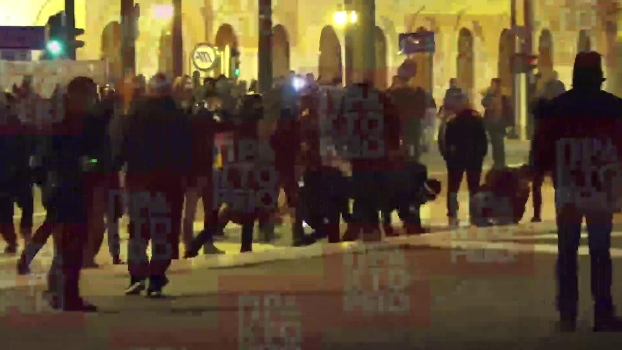 Επεισόδια μπροστά στη βουλή πριν την ψήφιση του Πολυνομοσχεδίου