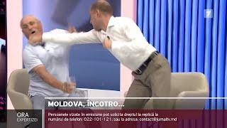 Bójka w studiu mołdawskiej telewizji. Jeden z polityków stracił przytomność