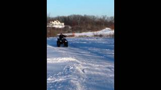 7. 2014 Sportsman 850 XP. Snowbogging