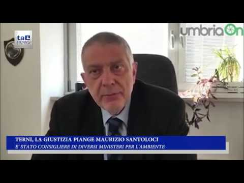 TERNI, LA GIUSTIZIA PIANGE MAURIZIO SANTOLOCI