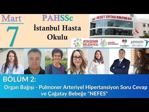 PAHSSc İstanbul Hasta Okulu - Bölüm 2 - Organ Bağışı . PAH Soru Cevap.  - Çağatay Bebeğe NEFES