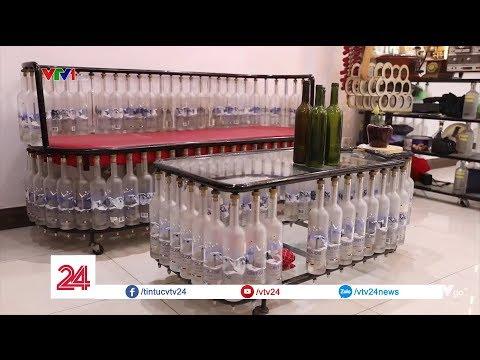 Ngôi nhà cho lại: 70% vật dụng làm từ chai lọ bỏ đi| VTV24
