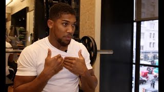 Video 'BEGGING? - YEAH I'M BEGGING' - ANTHONY JOSHUA (UNCUT IN NYC) ON WILDER, TYSON FURY, WHYTE, MILLER MP3, 3GP, MP4, WEBM, AVI, FLV Desember 2018