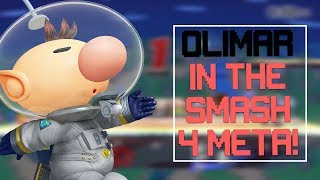 My thoughts on Olimar in the current Smash 4 Meta – Vlog