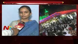 Collector Divya Face to Face over Nagoba Jatara Arrangements    Adilabad