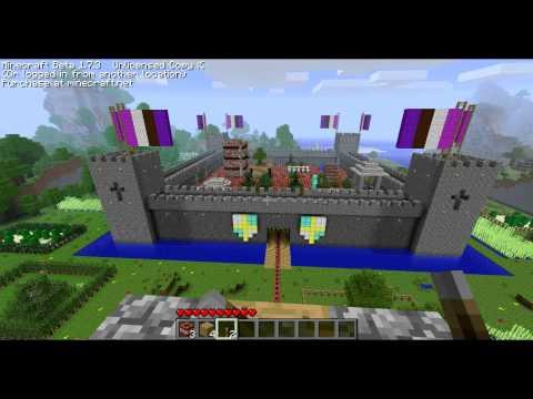 13.000 TNT в Minecraft