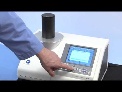 DS Technology and Services Malaysia : How does a CM-5 - Konica Minolta Sensing spectrophotometer work? CM-5 - Konica Minolta Sensing