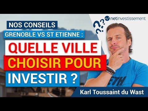 Match immobilier : Grenoble VS St Etienne  [Vidéo BFM]