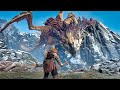 God Of War 4 Dragon Boss Fight god Of War 2018 Ps4 Pro