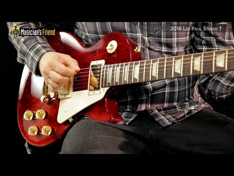Gibson Les Paul Studio 2016 T Wine Red Gold
