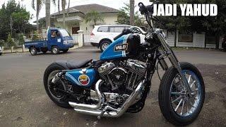MotoVLog - Nyobain Custom Harley Sportster Low XLL 1200