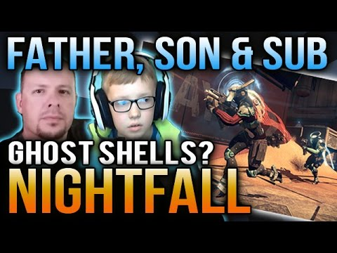 Destiny Nightfall Rewards x2 Psion Flayers Loot [Dad, Son & Subscribers]