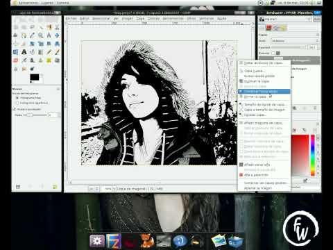 Video 2 de GIMP: Efecto comic en fotos