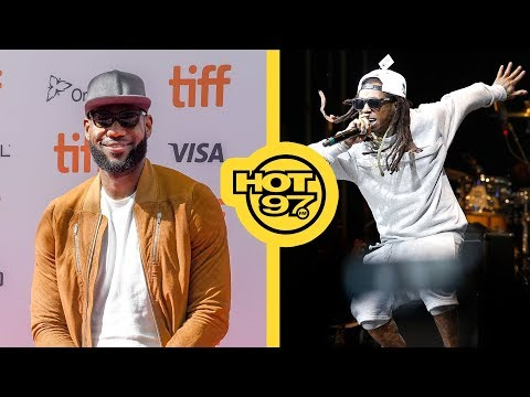 LeBron James Officially Announces 'Space Jam 2' + Lil' Wayne To Be Awarded By BET!