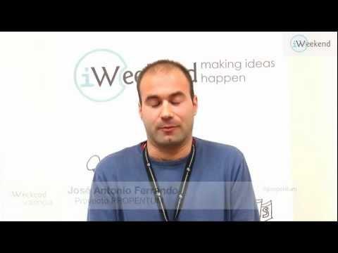Entrevista José Antonio Ferrando. PROPENTUM. iWeekend-Valencia 2013
