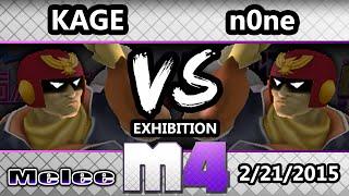 Kage The Warrior (Falcon) vs n0ne (Falcon) – McSm4shter