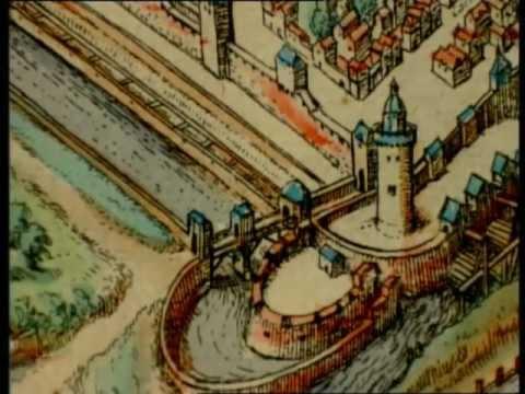 Frankfurt - kurze Geschichte - die älteste farbige Ansicht der Stadt - Doku