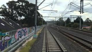 Central to Leppington, cab ride train videos.