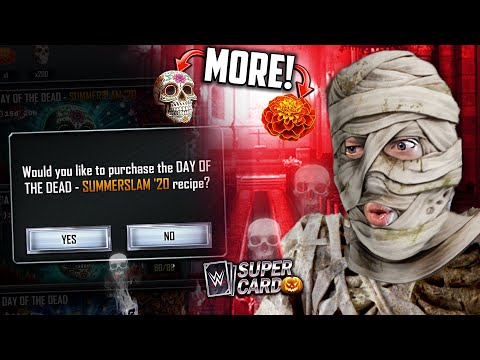 HOW TO GET MORE HALLOWEEN CARDS (EASY)!! Sugar Skull SS20 Rewards!   WWE SuperCard