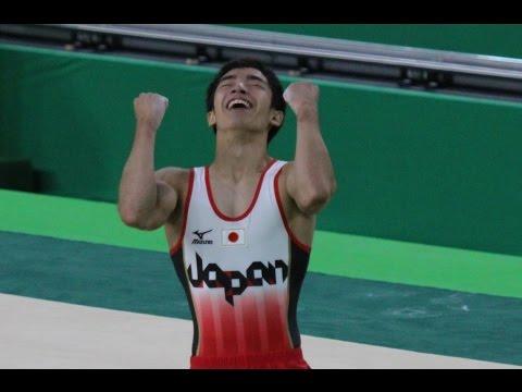 這位日本體操選手在今屆奧運中使出「空中滾筒洗衣機」神招,他根本是來自異次元的怪物啊!