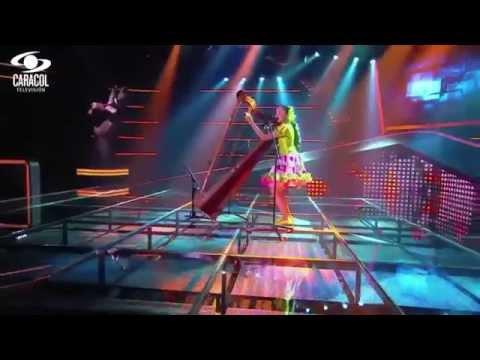 María José cantó 'Aquí les traigo joropo' de Alberto Santos - LVK Colombia- Audiciones a ciegas - T1