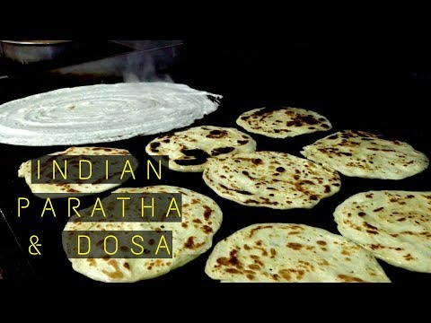 Indian Paratha & Dosa In Zikreet | Qatar Street Food | How To Make