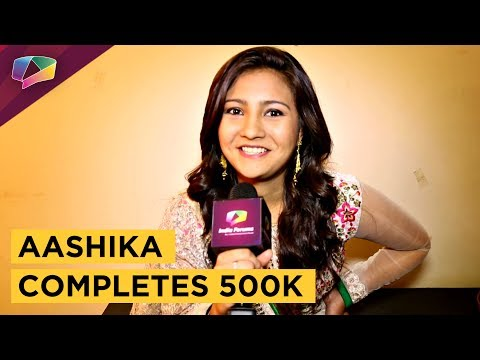 Aashika Bhatia Talks About Her 500K On Instagram,