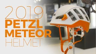 New Petzl Meteor 2019 climbing helmet by WeighMyRack