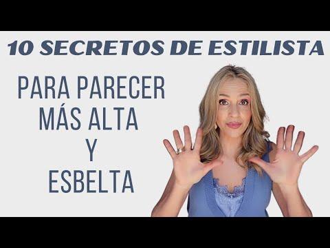 Cómo vestir para parecer MÁS ALTA / tips REALMENTE EFECTIVOS para BAJITAS/ As… видео
