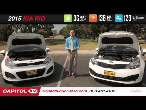 2015 Kia Rio Hatchback VS. Sedan | Capitol Kia | San Jose, CA
