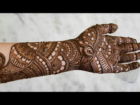 beautiful eid festival mehndi design tutorial