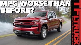 Disappointing Surprise! Some New 2019 Chevy Silverados Get Worse MPG Than Outgoing Trucks by The Fast Lane Truck