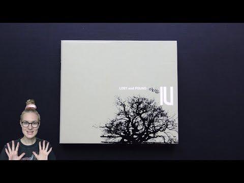 Unboxing IU 아이유 1st Korean Mini Album Lost and Found