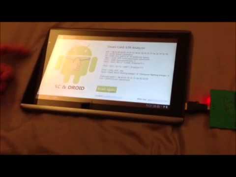 Video of Smart Card ATR Analyzer