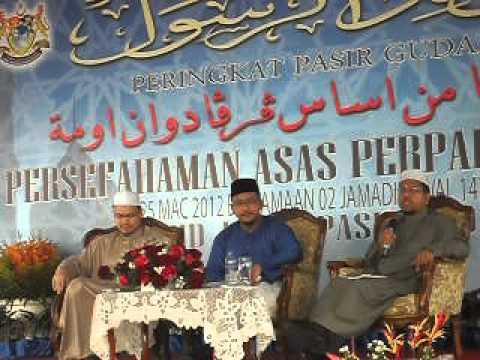 Forum Ustaz Zaharuddin & Ustaz Zahazan – Part 1 of 5