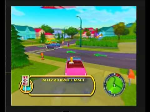 les simpson le jeu playstation 2 astuces